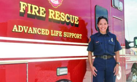 Firefighter beats powerlifting world record