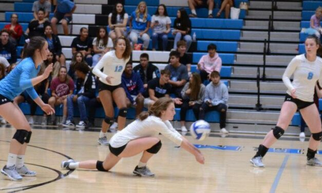 Cleveland volleyball squad pulls off 5-set upset of Volcano Vista
