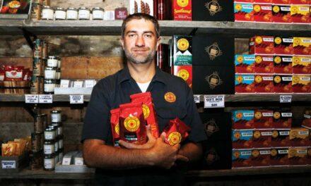 Native NM company Piñon Coffee opens 1st RR location