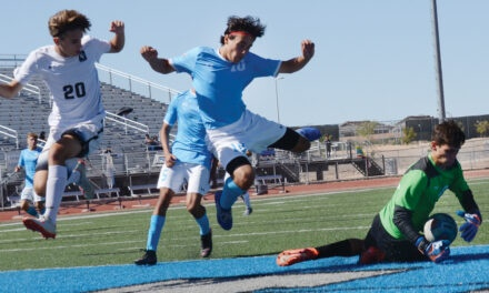 City's soccer teams reach midpoint of District 1-5A season