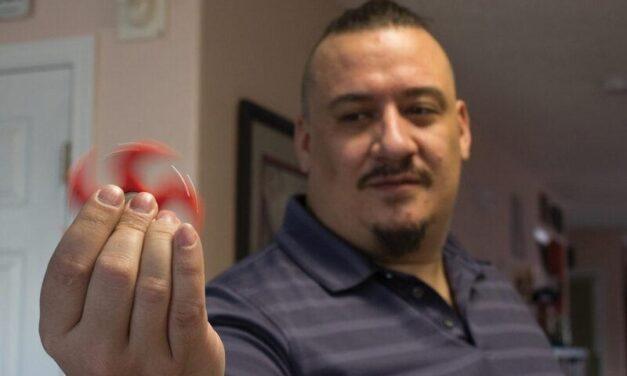 Rio Rancho veteran 3D-prints help for PTSD