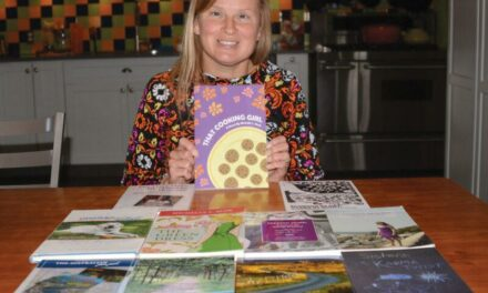Accomplished author, speaker and crafter finishes 12th book