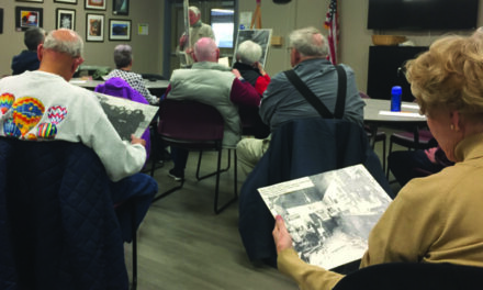 Gary's Glimpses: Going back in time at a senior center