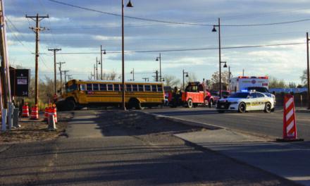 School bus involved crash in Bernalillo