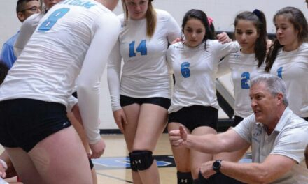 Cleveland volleyball coach Brian Ainsworth; wants to know why