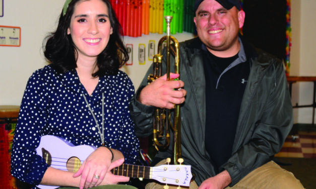 Living in harmony: Married couple teaches music for RRPS
