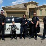 Police, deputies brighten kids' birthdays during pandemic