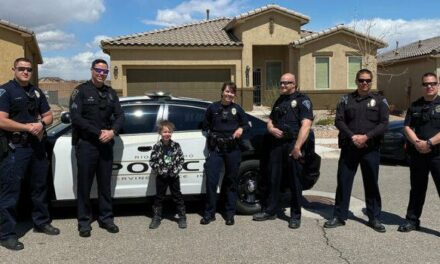 Police, deputies brighten kids' birthdays during pandemic