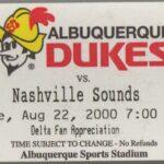 Gone, but not forgotten: The Albuquerque Dukes