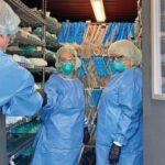 Machine cleans medical-grade masks in RR