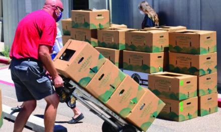 NM farmers serve fresh produce to seniors