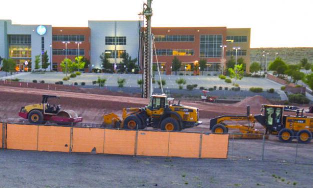 Construction of landmark park ongoing