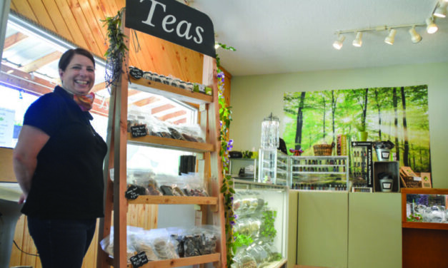 Store promotes health, stress relief with teas & more