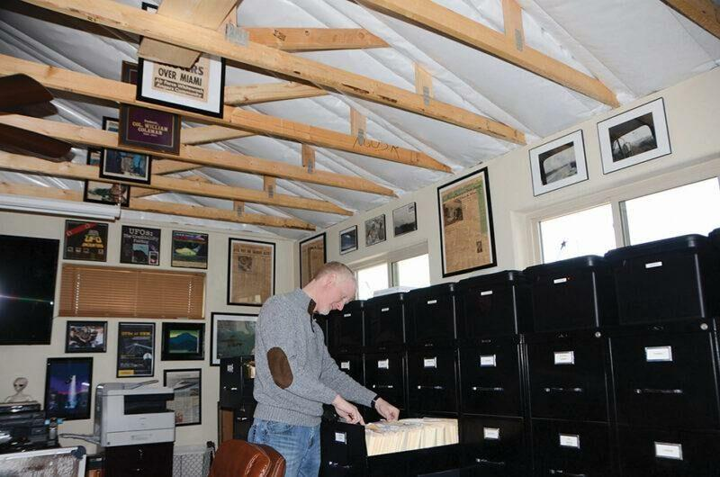 History Channel visits Rio Rancho's UFO researcher