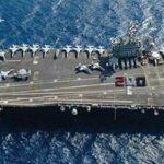 RRHS grad sails the high seas on Navy aircraft carrier