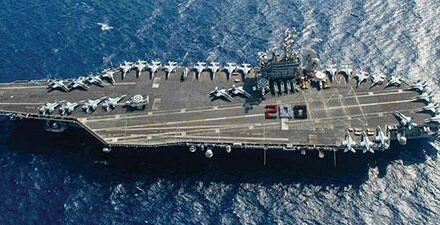 RRHS grad sails the high seas on Navy aircraft carrier
