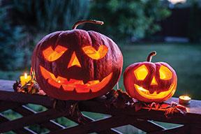 Jack-o'-lantern contest marks Halloween with social distancing