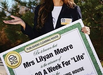 RR woman wins $600 a week for life
