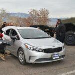 Santa drives a police car: 145 kids get gifts via drive-thru