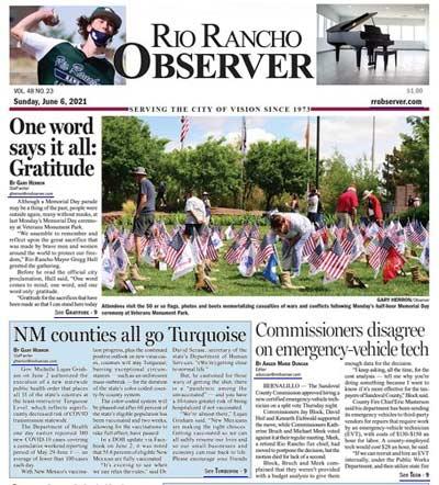 Rio Rancho Observer E-Edition