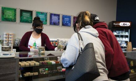 Medical pot shop strong in pandemic