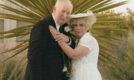 Anniversary: Patricia Ann (Miller) and Ronald Dean Cook