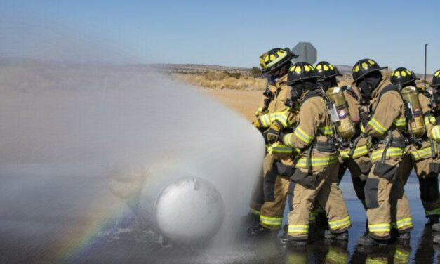 Fire cadets finish 8th week with county