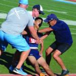 Rams' senior runner Martinez a survivor — literally