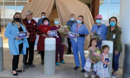 Donated tablets let SRMC patients talk with loved ones