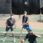 Rams, Storm battle on tennis courts