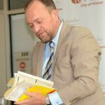 Reminiscing: Mayor opens time capsule