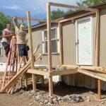 Group finishes Bernalillo porch repairs