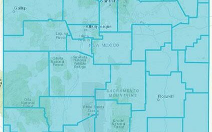 NM counties all go Turquoise