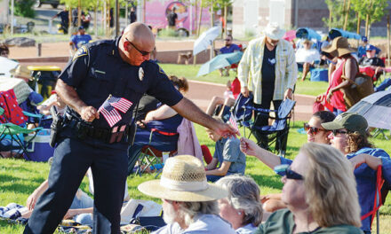 Hundreds party like it's 2019 on July 4 at new park