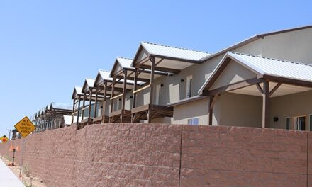 Vista Bosque Townhomes will offer views of the bosque, affordable rent