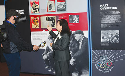 'Americans & the Holocaust' exhibit visits RR library